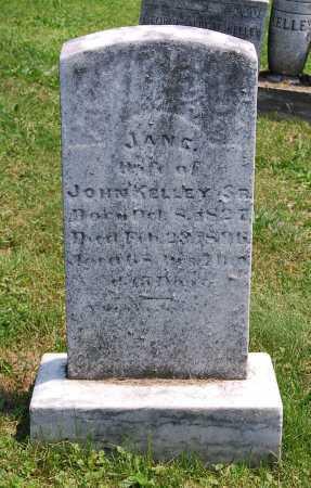 KELLEY, JANE - Juniata County, Pennsylvania   JANE KELLEY - Pennsylvania Gravestone Photos