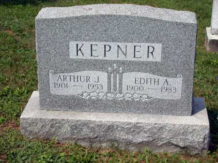 KEPNER, EDITH AGATHA - Juniata County, Pennsylvania | EDITH AGATHA KEPNER - Pennsylvania Gravestone Photos