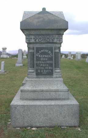 KEPNER, BLANCHE MAY - Juniata County, Pennsylvania   BLANCHE MAY KEPNER - Pennsylvania Gravestone Photos