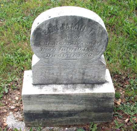 KEPNER, BENJAMIN F. - Juniata County, Pennsylvania | BENJAMIN F. KEPNER - Pennsylvania Gravestone Photos