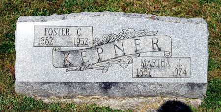 KEPNER, MARTHA J. - Juniata County, Pennsylvania | MARTHA J. KEPNER - Pennsylvania Gravestone Photos