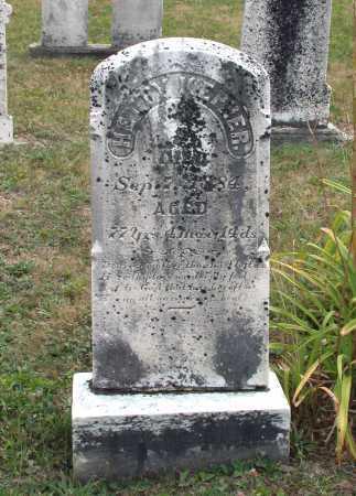"WALKER KEPNER, HESTER ""HETTY"" - Juniata County, Pennsylvania | HESTER ""HETTY"" WALKER KEPNER - Pennsylvania Gravestone Photos"