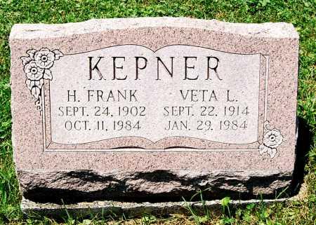 DEAVOR KEPNER, VETA L. - Juniata County, Pennsylvania | VETA L. DEAVOR KEPNER - Pennsylvania Gravestone Photos