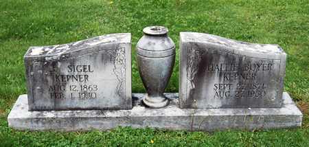 BOYER KEPNER, MARY HALLIE - Juniata County, Pennsylvania   MARY HALLIE BOYER KEPNER - Pennsylvania Gravestone Photos