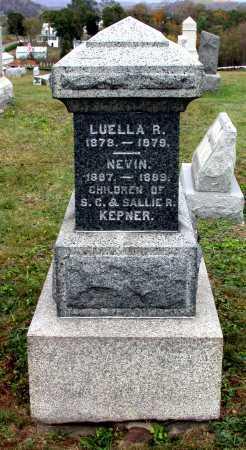 KEPNER, LUELLA R. - Juniata County, Pennsylvania | LUELLA R. KEPNER - Pennsylvania Gravestone Photos