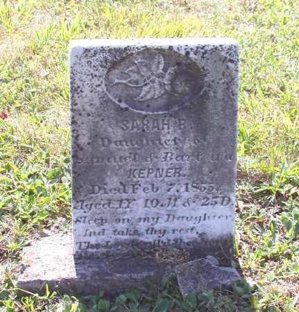 KEPNER, SARAH B. - Juniata County, Pennsylvania | SARAH B. KEPNER - Pennsylvania Gravestone Photos