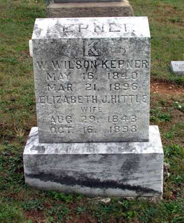 KEPNER, WILLIAM WILSON - Juniata County, Pennsylvania   WILLIAM WILSON KEPNER - Pennsylvania Gravestone Photos