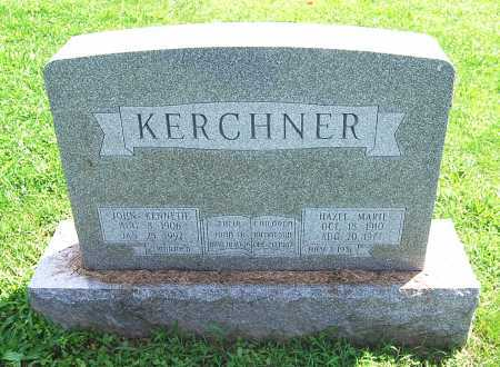 KERCHNER, JOHN KENNETH - Juniata County, Pennsylvania | JOHN KENNETH KERCHNER - Pennsylvania Gravestone Photos