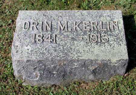 KERLIN, ORIN M. - Juniata County, Pennsylvania   ORIN M. KERLIN - Pennsylvania Gravestone Photos
