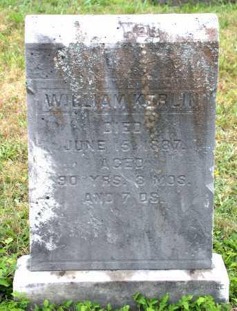 KERLIN, WILLIAM - Juniata County, Pennsylvania   WILLIAM KERLIN - Pennsylvania Gravestone Photos
