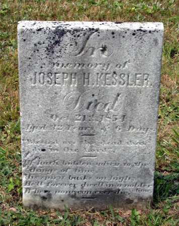 KESSLER, JOSEPH H. - Juniata County, Pennsylvania | JOSEPH H. KESSLER - Pennsylvania Gravestone Photos