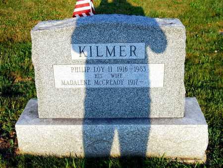 KILMER, PHILIP LOY - Juniata County, Pennsylvania   PHILIP LOY KILMER - Pennsylvania Gravestone Photos