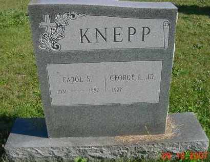 SCHRADER KNEPP, CAROL - Juniata County, Pennsylvania | CAROL SCHRADER KNEPP - Pennsylvania Gravestone Photos