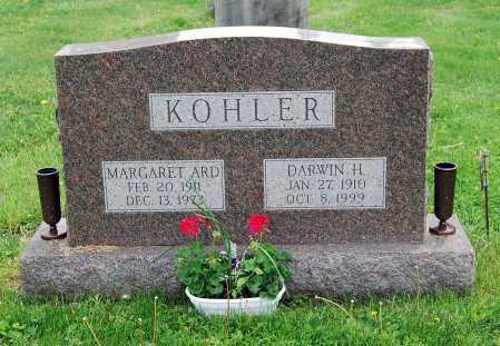 KOHLER, MARGARET - Juniata County, Pennsylvania | MARGARET KOHLER - Pennsylvania Gravestone Photos
