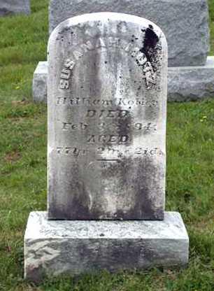 KOHLER, SUSANNAH - Juniata County, Pennsylvania | SUSANNAH KOHLER - Pennsylvania Gravestone Photos
