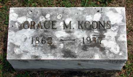 KOONS, GRACE MCCLURE - Juniata County, Pennsylvania   GRACE MCCLURE KOONS - Pennsylvania Gravestone Photos