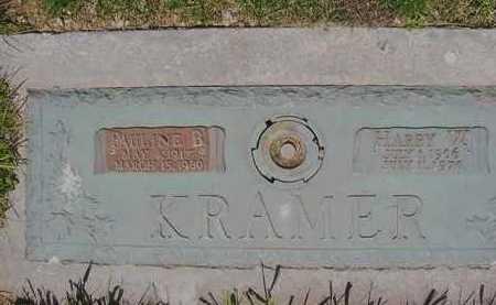 KRAMER, PAULINE B. - Juniata County, Pennsylvania | PAULINE B. KRAMER - Pennsylvania Gravestone Photos