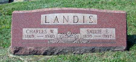 LANDIS, CHARLES W. - Juniata County, Pennsylvania | CHARLES W. LANDIS - Pennsylvania Gravestone Photos