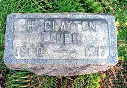 LANDIS, H. CLAYTON - Juniata County, Pennsylvania | H. CLAYTON LANDIS - Pennsylvania Gravestone Photos