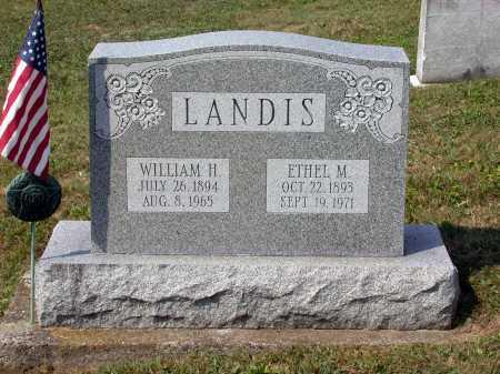 LANDIS, ETHEL M. - Juniata County, Pennsylvania   ETHEL M. LANDIS - Pennsylvania Gravestone Photos