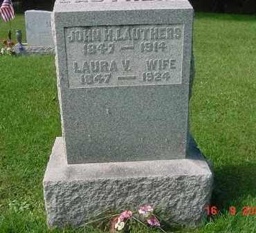 FELMLEE LAUTHERS, LAURA V. - Juniata County, Pennsylvania | LAURA V. FELMLEE LAUTHERS - Pennsylvania Gravestone Photos
