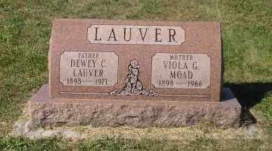 MOAD LAUVER, VIOLA GRACE - Juniata County, Pennsylvania | VIOLA GRACE MOAD LAUVER - Pennsylvania Gravestone Photos