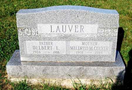 COLYER LAUVER, MILDRED M. - Juniata County, Pennsylvania | MILDRED M. COLYER LAUVER - Pennsylvania Gravestone Photos