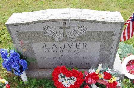 LAUVER, MARTHA LOUISE - Juniata County, Pennsylvania | MARTHA LOUISE LAUVER - Pennsylvania Gravestone Photos