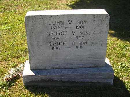 LAUVER, JOHN W. - Juniata County, Pennsylvania | JOHN W. LAUVER - Pennsylvania Gravestone Photos
