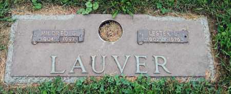 LAUVER, LESTER L. - Juniata County, Pennsylvania   LESTER L. LAUVER - Pennsylvania Gravestone Photos