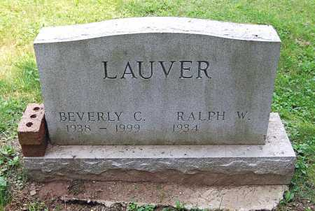 CORSON LAUVER, BEVERLY - Juniata County, Pennsylvania | BEVERLY CORSON LAUVER - Pennsylvania Gravestone Photos
