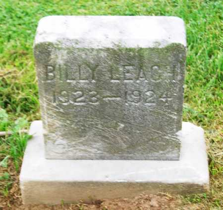 LEACH, BILLY - Juniata County, Pennsylvania | BILLY LEACH - Pennsylvania Gravestone Photos