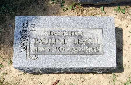 LEACH, PAULINE - Juniata County, Pennsylvania | PAULINE LEACH - Pennsylvania Gravestone Photos