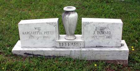 PETTIT LEFFARD, MARGARETTA - Juniata County, Pennsylvania | MARGARETTA PETTIT LEFFARD - Pennsylvania Gravestone Photos