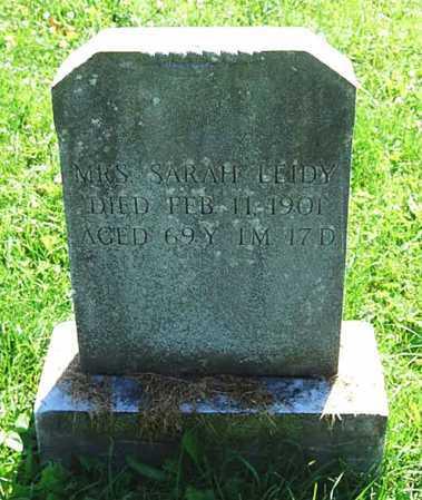 LEIDY, SARAH - Juniata County, Pennsylvania | SARAH LEIDY - Pennsylvania Gravestone Photos