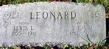 LEONARD, S. IDA M. - Juniata County, Pennsylvania | S. IDA M. LEONARD - Pennsylvania Gravestone Photos