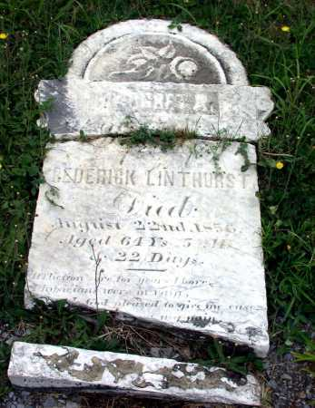 LINTHURST, MARGARET A. - Juniata County, Pennsylvania | MARGARET A. LINTHURST - Pennsylvania Gravestone Photos
