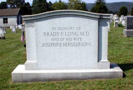 LONG, BRADY F. - Juniata County, Pennsylvania   BRADY F. LONG - Pennsylvania Gravestone Photos
