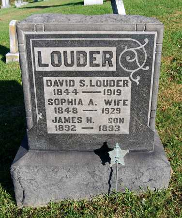 LOUDER, SOPHIA ALICE - Juniata County, Pennsylvania | SOPHIA ALICE LOUDER - Pennsylvania Gravestone Photos