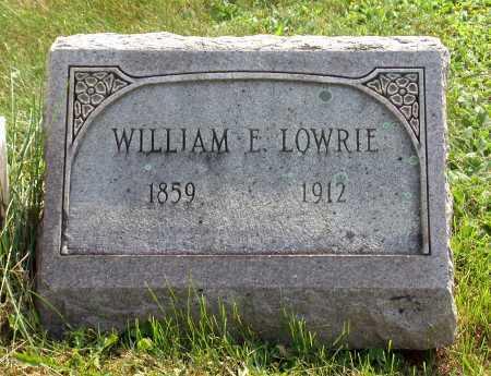 LOWRIE, WILLIAM EDWARD - Juniata County, Pennsylvania   WILLIAM EDWARD LOWRIE - Pennsylvania Gravestone Photos