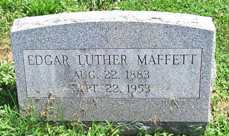 MAFFETT, EDGAR LUTHER - Juniata County, Pennsylvania | EDGAR LUTHER MAFFETT - Pennsylvania Gravestone Photos