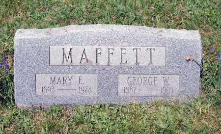 MAFFETT, MARY E. - Juniata County, Pennsylvania | MARY E. MAFFETT - Pennsylvania Gravestone Photos