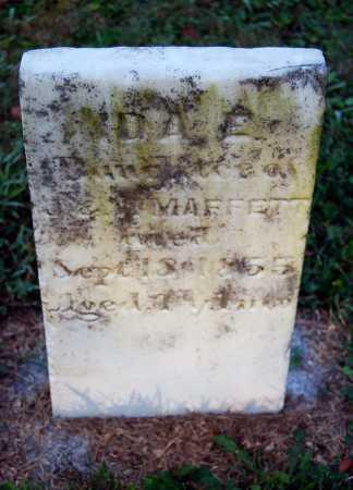 MAFFETT, IDA E. - Juniata County, Pennsylvania | IDA E. MAFFETT - Pennsylvania Gravestone Photos
