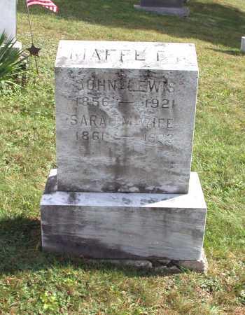 MAFFETT, JOHN LEWIS - Juniata County, Pennsylvania | JOHN LEWIS MAFFETT - Pennsylvania Gravestone Photos