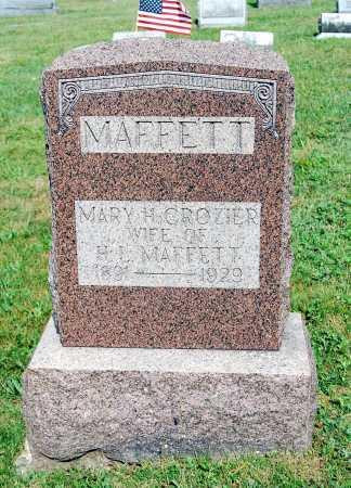 MAFFETT, MARY M. - Juniata County, Pennsylvania | MARY M. MAFFETT - Pennsylvania Gravestone Photos