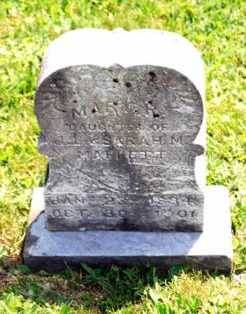 MAFFETT, MARY R. - Juniata County, Pennsylvania   MARY R. MAFFETT - Pennsylvania Gravestone Photos