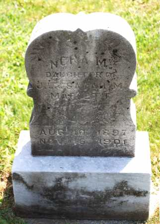 MAFFETT, NORA M. - Juniata County, Pennsylvania   NORA M. MAFFETT - Pennsylvania Gravestone Photos