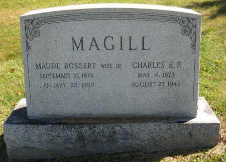 BOSSERT MAGILL, MAUDE - Juniata County, Pennsylvania | MAUDE BOSSERT MAGILL - Pennsylvania Gravestone Photos