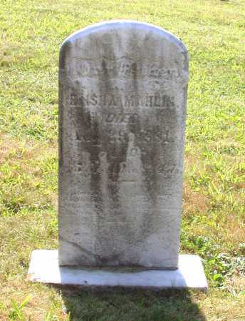 MAHLIN, ELISHA - Juniata County, Pennsylvania | ELISHA MAHLIN - Pennsylvania Gravestone Photos