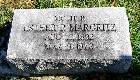 MARGRITZ, ESTHER - Juniata County, Pennsylvania   ESTHER MARGRITZ - Pennsylvania Gravestone Photos